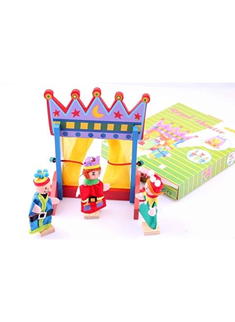 Learning Toys Ahşap Tiyatro Kukla Seti Renkli